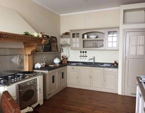 Cucina ad angolo country stile inglese mod. Old england Marchi cucine a prezzo scontato -60%
