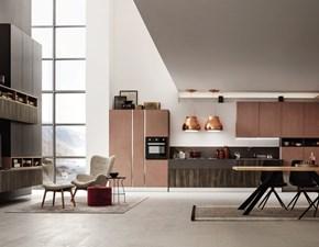 Cucina ad angolo Cucina ad angolo massima personalizzazione finiture legno  Febal con un ribasso vantaggioso