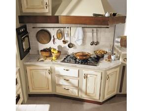 Cucina ad angolo Cucina onelia Lube cucine con un ribasso vantaggioso