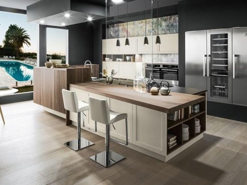 Cucina ad angolo dallas arrex con uno sconto del 40 - Cucine stile contemporaneo ...
