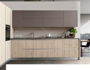 Cucina ad angolo design Irma futura gola S75 a prezzo ribassato