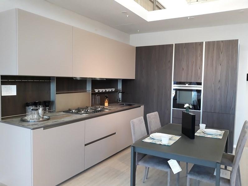 Cucina ad angolo design lab 13 forma aran cucine a prezzo scontato