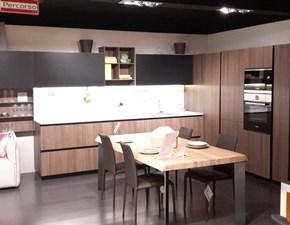 Cucina ad angolo design Lain Euromobil a prezzo scontato
