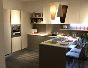 Cucina ad angolo design Liberamente  Scavolini a prezzo ribassato
