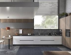 Cucina ad angolo design Matilda S75 a prezzo ribassato