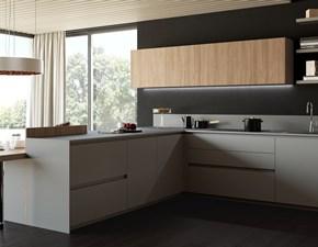 Cucina ad angolo design Menta 06  Miton a prezzo ribassato
