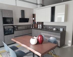 Cucina ad angolo design Metropolis Stosa cucine a prezzo scontato