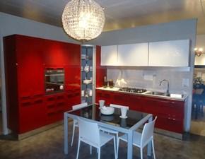 Cucina ad angolo Geo Berloni cucine con un ribasso vantaggioso