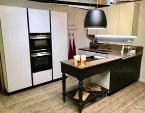 Cucina ad angolo Glass Artigianale con uno sconto vantaggioso