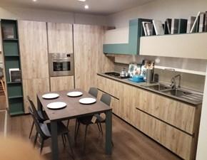 Cucina ad angolo Immagina Lube cucine con uno sconto vantaggioso