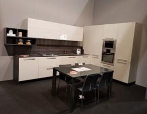 Cucina ad angolo in laccato lucido a prezzo scontato 51%
