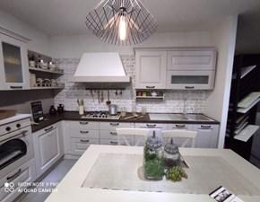 Cucina ad angolo in laccato opaco tortora Telma a prezzo ribassato