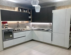 Cucina ad angolo in laminato materico altri colori Start time j a prezzo ribassato