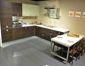Cucina ad angolo in legno a prezzo ribassato 54%
