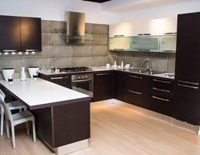 Cucina ad angolo in legno a prezzo ribassato 65%