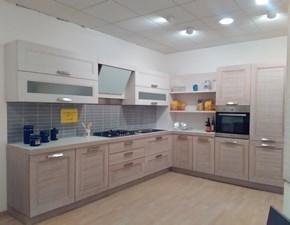 Cucina ad angolo in legno a prezzo ribassato 60%