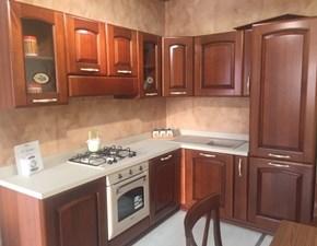 Cucina ad angolo in legno a prezzo scontato 40%