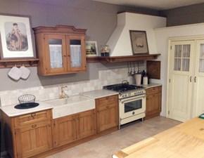Cucina ad angolo in legno rovere chiaro Rovere a prezzo ribassato