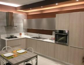 Cucina ad angolo in nobilitato a prezzo ribassato 52%