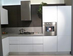 Cucina ad angolo in polimerico lucido a prezzo scontato 70%