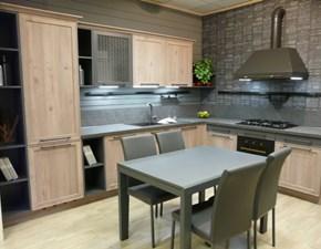 Cucina ad angolo industriale Vintage Ar-tre a prezzo scontato