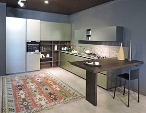 Cucina ad angolo Logica 2.2 l90 Valdesign cucine con un ribasso vantaggioso