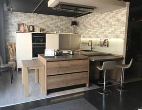 Cucina ad angolo Lux-riva Artigianale con uno sconto vantaggioso