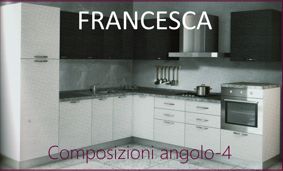 Cucina ad angolo modello francesca cucine a prezzi scontati - Lavelli cucina ad angolo ...