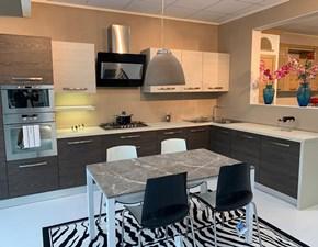 Cucina ad angolo moderna Arrex ad angolo Arrex a prezzo ribassato