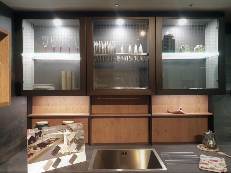 Cucina Ad Angolo Moderna Asia Factory Arredo3 A Prezzo Scontato