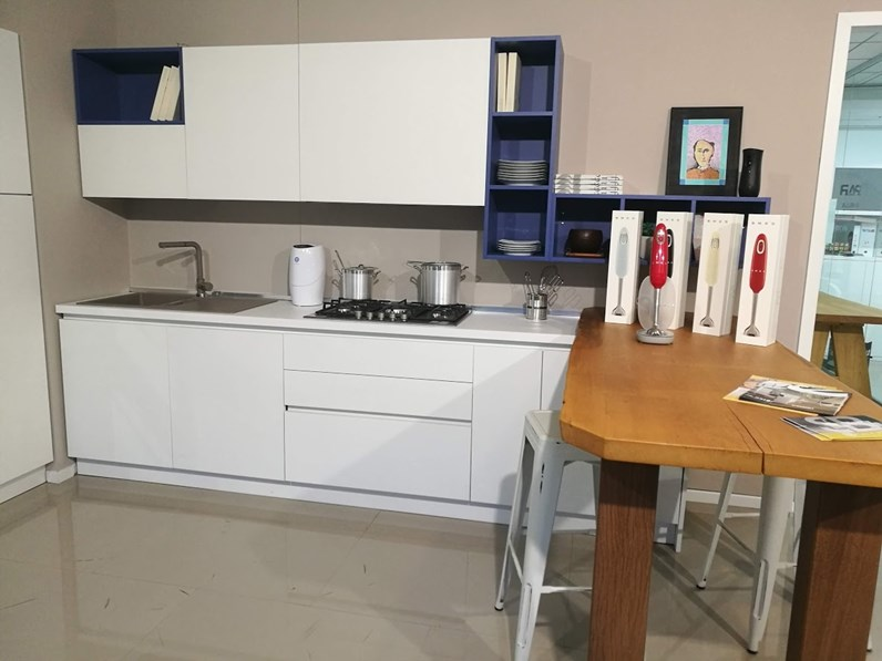 Cucina ad angolo moderna azimut essebi cucine a prezzo - Cucina angolo moderna ...