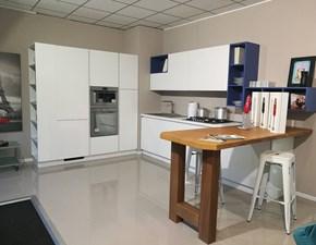 Cucina ad angolo moderna Azimut Essebi cucine a prezzo ribassato