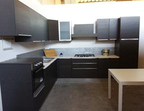Cucina ad angolo moderna Cannella Arrex-2 a prezzo scontato