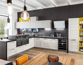 Cucina ad angolo moderna Componibile Arrex a prezzo ribassato