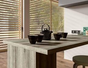 Cucina ad angolo moderna Corallo Essebi cucine a prezzo scontato