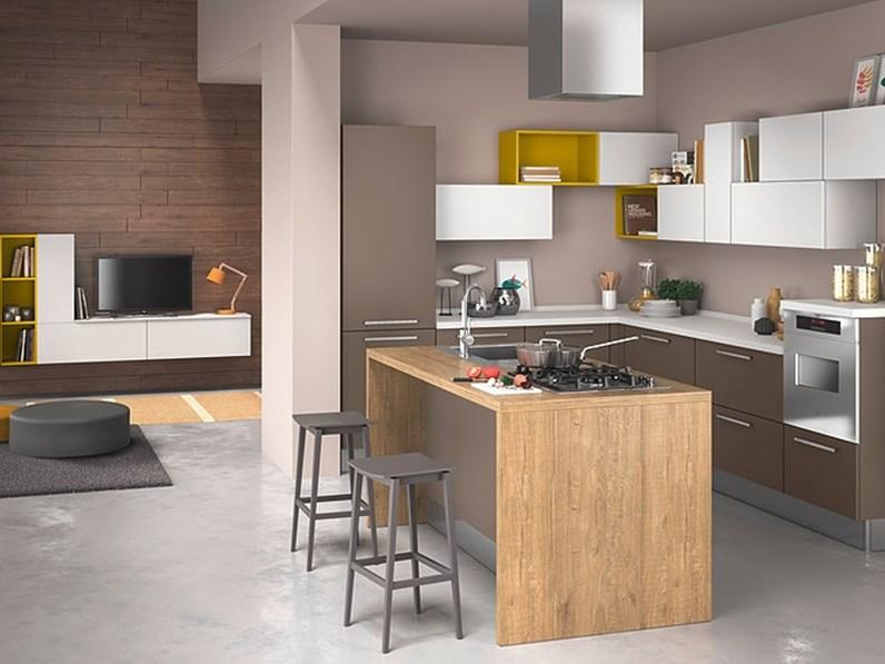 Cucina ad angolo moderna Cucina componibile mod.baltimora in ...