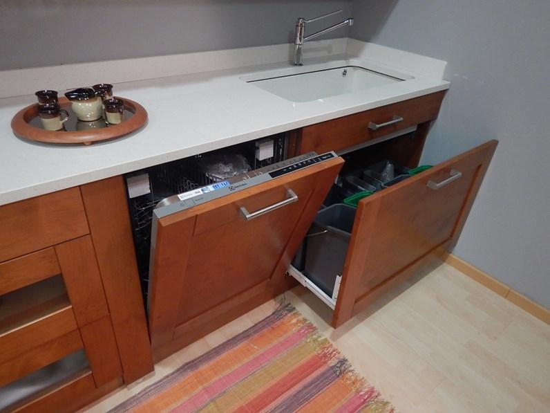 Cucina ad angolo moderna eko artigianale a prezzo scontato - Cucina moderna prezzo ...