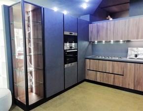 Cucina ad angolo moderna Genesi Home cucine a prezzo ribassato