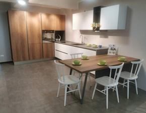 Cucina ad angolo moderna Infinity Stosa cucine a prezzo scontato