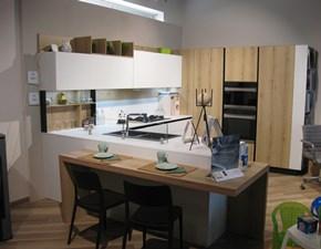 Cucina ad angolo moderna Kalì Arredo3 a prezzo ribassato