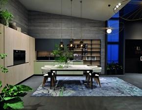 Cucina ad angolo moderna Lab13 Aran cucine a prezzo ribassato