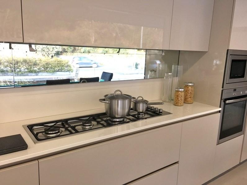 Cucina ad angolo moderna modello creta del tongo a prezzo - Cucina moderna prezzo ...