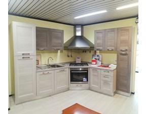Cucina ad angolo moderna Mya Lube cucine a prezzo scontato