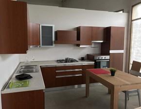 Cucina ad angolo moderna Peonia  Arrex a prezzo scontato