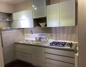 Cucina ad angolo moderna Zenit Essebi cucine a prezzo scontato