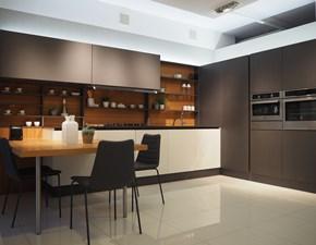 Cucina ad angolo Oyster pro Veneta cucine con un ribasso vantaggioso