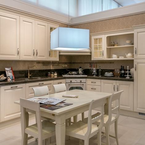 Cucina ad angolo Scavolini Baltimora piano granito scontata del 32 ...