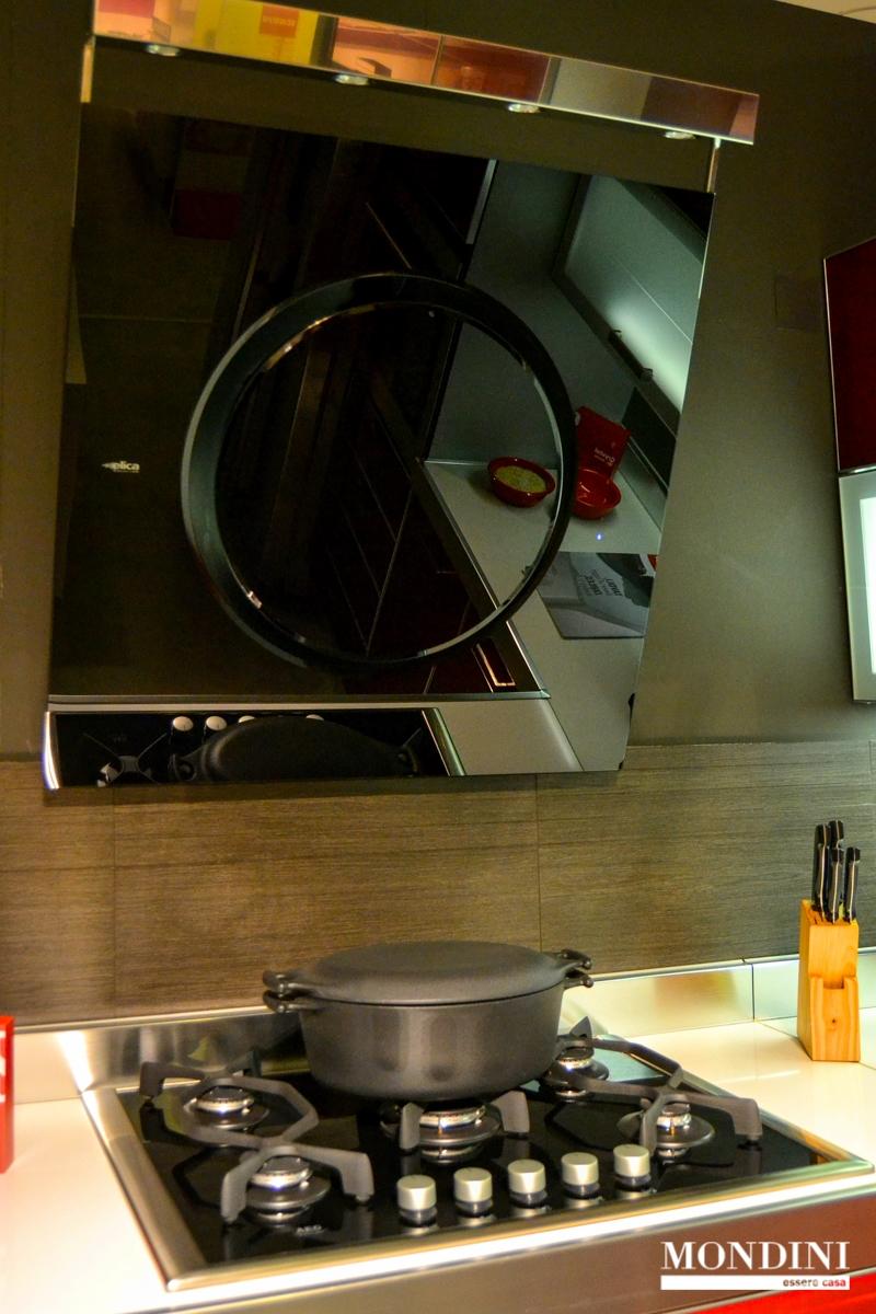 Cucina ad angolo scavolini modello crystal scontata del 56 - Cucine scavolini prezzi offerte ...