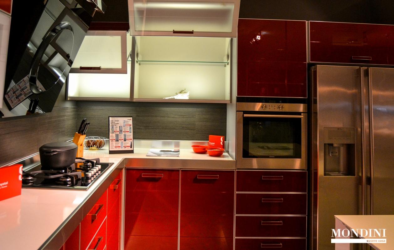 Cucina ad angolo scavolini modello crystal scontata del 56 cucine a prezzi scontati - Cucina crystal scavolini ...