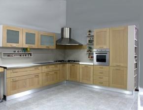 Cucina ad angolo U813 crono 11 Artigianale con un ribasso vantaggioso